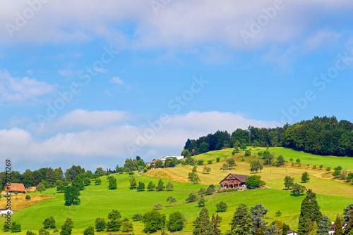 canvas print picture Alp am Vierwaldstättersee