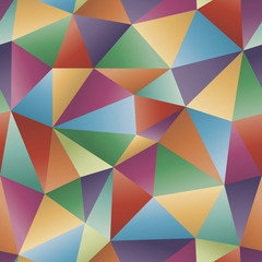 Seamless abstract polygonal vector background