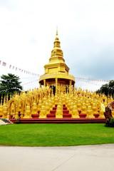 golden pagodas
