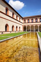 Corte Ducale im Castello Sforzesco, Mailand