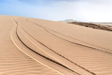 Dünen von Morro d'Areia, Boavista, Kapverden
