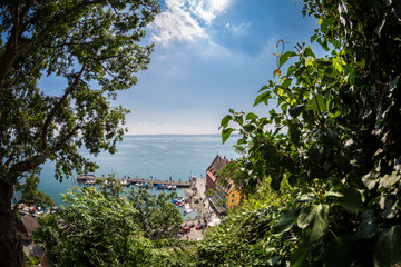 Meersburger Hafen