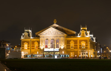 National music concert expositon hall in Amsterdam