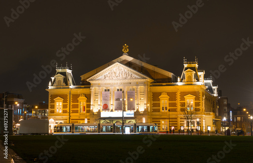 National music concert expositon hall in Amsterdam - 69275271