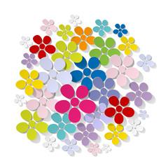 Blumenstrauß Bunt