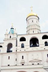 Ivan the Great bell tower. Moscow Kremlin. UNESCO Heritage.