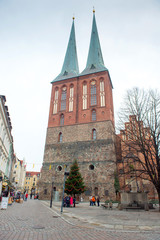St Nicholas church is the oldest church in Berlin, Germany