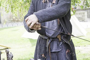 Warrior sword sheath