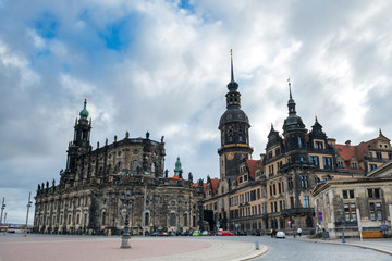 Cathedral of the Holy Trinity and Dresden castle