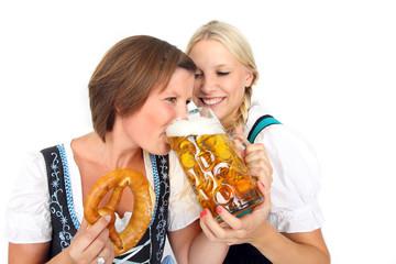 Mädels und Bier