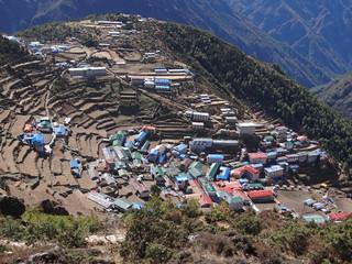 Namche Bazar, capitale des Sherpas