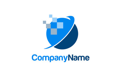 Information and technology company logo