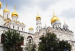 Moscow Kremlin churches. UNESCO World Heritage Site.