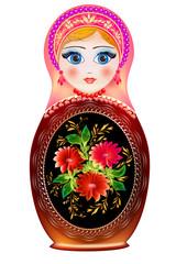Matryoshka Russian national toy