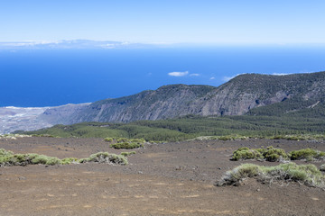 View of the coast of Tenerife. The Canary Islands. Spain.