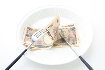 お金と料理の関係