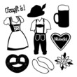 Set of Octoberfest Items
