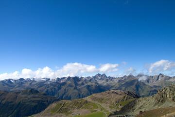Pardatschgrat und Verwallgruppe - Alpen