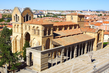 Basilica of San Vicente.  Avila