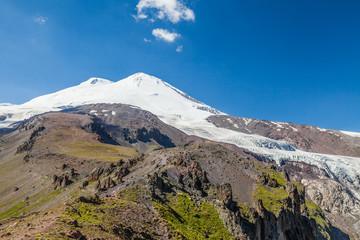 Mount Elbrus. Caucasian National Park. Russia