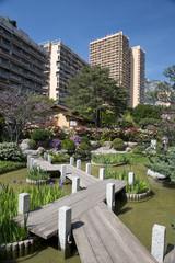 Japanese Garden in Montecarlo, Monaco