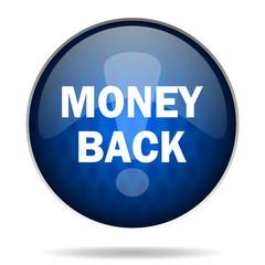 money back internet icon