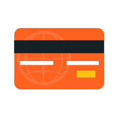 Credit Card Flat Icon