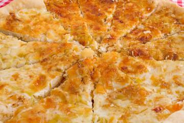 cheese cake closeup