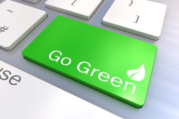 Green keyboard button