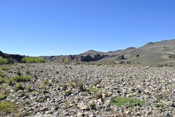 Desierto de Piedras en la Patagonia