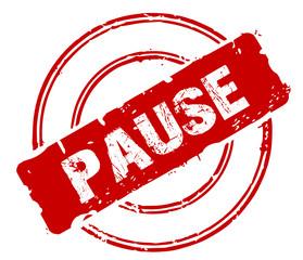 Stempel Pause