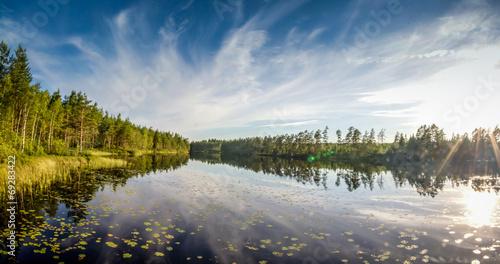 Panorama Sweden See © daskleineatelier