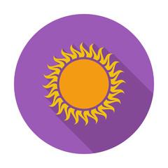 Sun single icon.