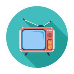 TV single icon.