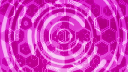 Purple seamless looping technical abstract concept