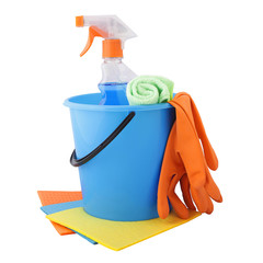 A set of tools for cleaning