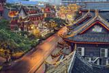 Chengdu, China at Qintai Street