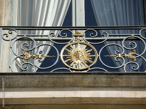 canvas print picture Balcon de prestige