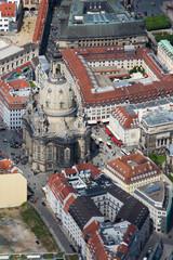 Frauenkirche in Dresden, Sachsen, Deutschland