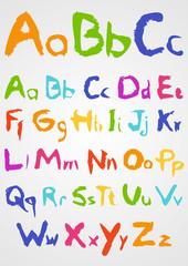 Soft Pastels Alphabet