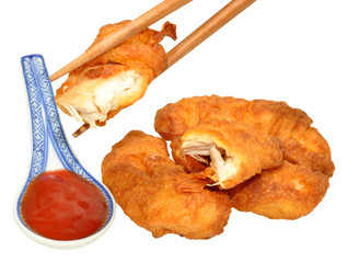 Sweet And Sour Chinese Battered Chicken