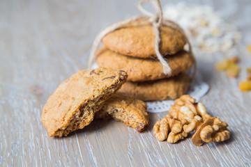 Homemade oat biscuit