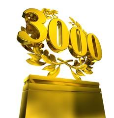 3000 three-thousand number