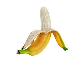 bananas isolated.