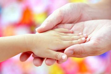子どもとママの手