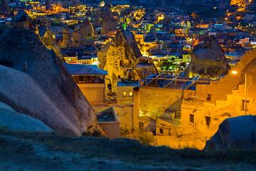landscape on GOREME Cappadocia Turkey.