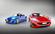 3D Luxury Sports Car Set