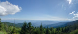 View from Clingman's Dome in the Great Smoky Mountains National