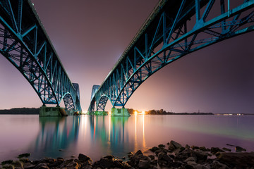 South Grand Island Bridge spanning Niagara river