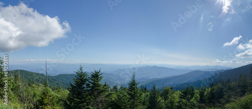 View from Clingman's Dome in the Great Smoky Mountains National - 69292881
